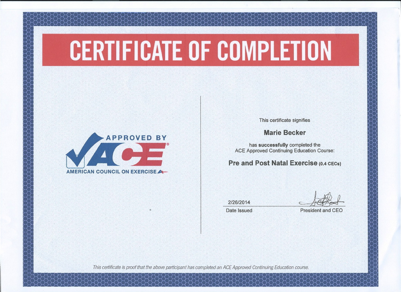Marie lueger urban energy fitness cpr and aed certification issa personal trainer certification xflitez Image collections